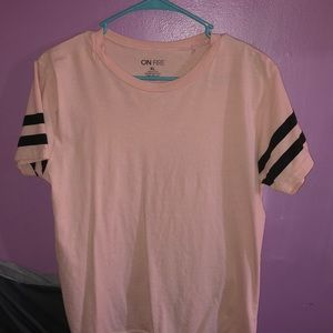 A light pink t-shirt